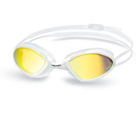 Head Tiger Race Mirrored LiquidSkin - Lunettes de natation - blanc